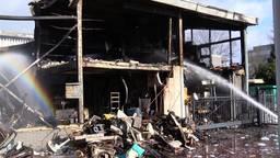 Verhuurbedrijf twee keer getroffen door brand: 'Dacht dat het een grap was'