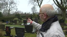 Rode kruizen op graven in Breda