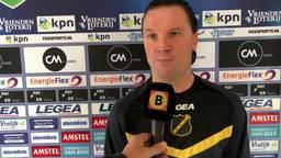 NAC-coach Stijn Vreven heeft weinig spijt van rode kaart: 'Ik schaam me niet voor mijn gedrag'