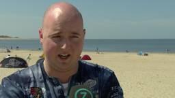Robin de Graaf filmde het incident met cheetas in Beekse Bergen