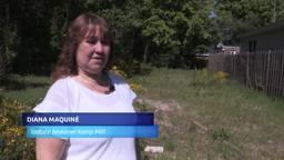Diana Maquiné is de laatste bewoner van het kampje in Mill