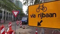 Met de auto dwars door de binnenstad van Eindhoven rijden is er voorlopig niet meer bij