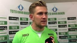 Mattijs Branderhorst is na 199 dagen terug onder de lat bij Willem II