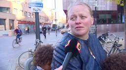 Demonstratie tegen zwarte Piet in Eindhoven: 'Bang dat het misschien fout zal gaan'
