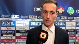 Freek Heerkens trekt het boetekleed aan na z'n rode kaart tegen Heerenveen: 'Ik ben de schlemiel van de avond'