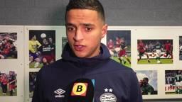 Mohammed Ihattaren stond voor de eerste keer bij PSV in de basis