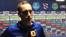 Freek Heerkens is trots na tweede helft Willem II, maar er is ook onvrede: 'Goed in de spiegel kijken wat er allemaal mis gaat'
