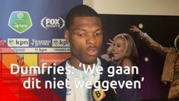 PSV'er Denzel Dumfries: 'We gaan dit niet weggeven'