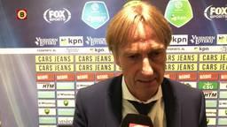 Adrie Koster vol ongeloof na 6-2 nederlaag: 'Absurd, maar we doen het zelf'
