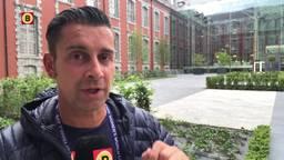 Verslaggever Ronald Sträter bedenkt een kwaadaardig plannetje voor Oranje Leeuwinnen.