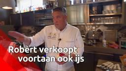 Naast brood verkoopt patissier Robèrt van Beckhoven nu ook ijs en pannenkoeken