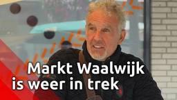 Markt in Waalwijk is weer in trek: 'de patiënt leeft weer'