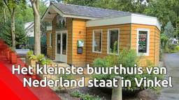 Het kleinste buurthuis van Nederland staat in Vinkel