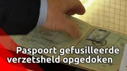 Paspoort van de  gefusilleerde verzetsheld Jan de Rooij opgedoken in Sprang-Capelle