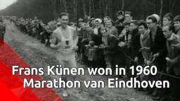 Frans Künen was eerste Nederlandse winnaar Marathon Eindhoven in 1960