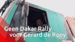 Trucker Gerard de Rooy haakt door hernia af voor Dakar Rally 2020.