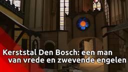 Kerststal Sint Jan: zwevende engelen in de basiliek en 'een man van vrede'