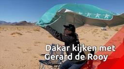 Gerard de Rooy: van Dakar-winnaar naar fan langs de route
