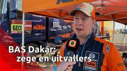 Teambaas Bart van der Velde van BAS Dakar halverwege Dakar Rally: 'Etappezege en drie uitvallers'