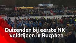 Duizenden komen naar eerste NK in Rucphen en oh ja, Mathieu van der Poel won
