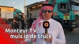 Monteur TV bij Team de Rooy in de Dakar Rally: 'Er zit een muis in de truck'