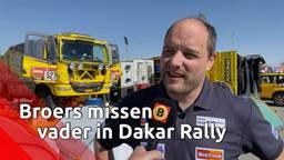 Broers Van de Laar rijden samen in Dakar Rally: 'We missen je, pap!'
