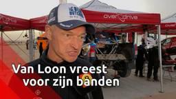 Erik van Loon bang voor z'n banden in marathonetappe Dakar Rally: 'We rijden te veel lek'