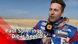 Paul Spierings bij finish Dakar Rally: 'Dubbel gevoel'