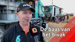 'Baas Bivak' Corne regelt alles in het Dakar-bivak van Team de Rooy