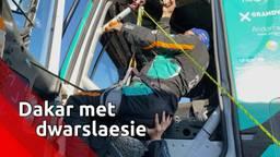 Dakar met een dwarslaesie: rolstoeler Albert Llovera in Brabantse dienst rijdt 'dubbele rally'