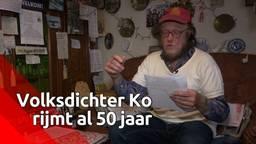 Volksdichter Ko van de Ketterij rijmt al 50 jaar over lief en leed