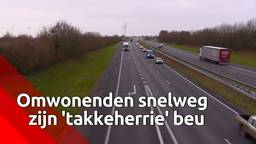 Omwonenden van snelweg willen nachtrust terug van minister