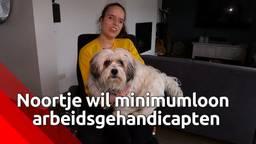 Noortje van Lith teleurgesteld: arbeidsgehandicapten hebben óók recht op het minimumloon