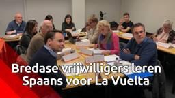 Breda stoomt vrijwilligers klaar voor de start van La Vuelta: ze krijgen een cursus Spaans