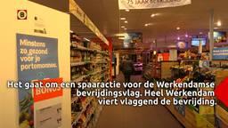 Heel Werkendam viert vlaggend de bevrijding, als de Chinezen op tijd leveren.
