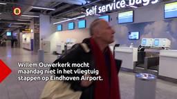 Willem Ouwerkerk mocht vliegtuig niet in uit angst voor coronavirus