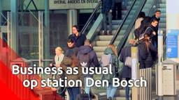 Business as usual op station Den Bosch