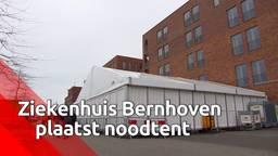 Ziekenhuis Bernhoven plaatst noodtenten