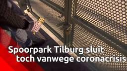 Spoorpark Tilburg gesloten, ondernemers maken zich zorgen