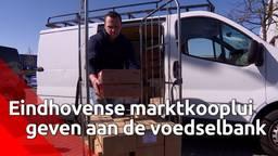 Eindhovense marktlui komen in actie voor voedselbank
