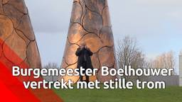 Burgemeester Jan Boelhouwer neemt afscheid: 'Doodsbedreiging was vooral een reden om door te gaan'