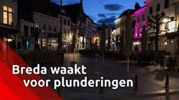 Breda waakt voor plunderingen bij coronacrisis.
