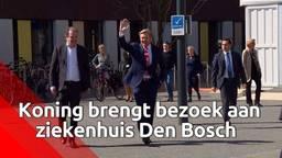 Koning Willem-Alexander bezoekt het Jeroen Bosch Ziekenhuis