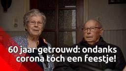 60 jaar getrouwd: ondanks corona tóch een feestje!