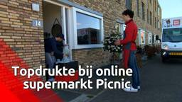 Topdrukte bij online supermarkt Picnic