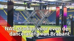 NAC-stadion voor even dé dance-arena van Brabant