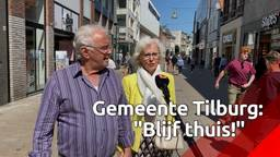 Volle winkelstraten in Tilburg: 'De muren komen op me af'
