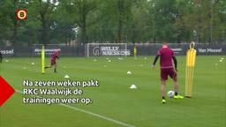 RKC Waalwijk weer in training