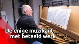 Joost van Balkom is de enige muzikant met betaald werk