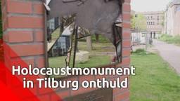 Holocaustmonument in Tilburg onthuld